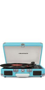 Amazon.com: Crosley Cruiser Deluxe Vintage 3-Speed Bluetooth ...