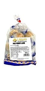 Lázaro Bizcocho Dos Chocolates Calado - 400 g: Amazon.es ...