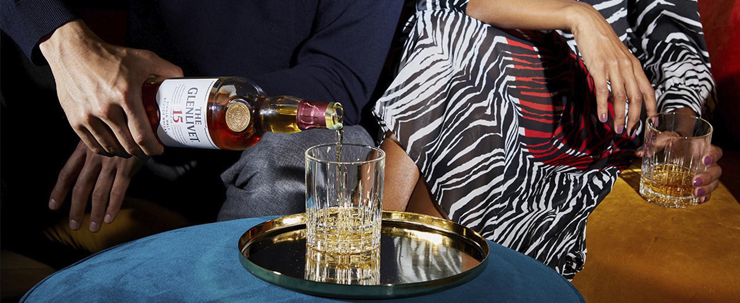 The Glenlivet 15 años Whisky Escocés de Malta Premium - 700 ml: Amazon.es: Alimentación y bebidas