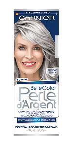 capelli grigi, colorazione, tinta capelli grigi, belle color, garnier, colorazione diretta
