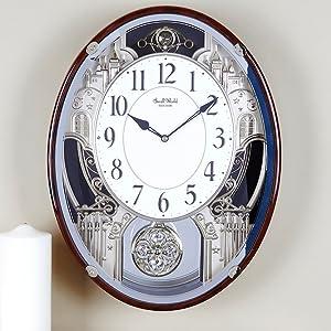 Amazon Com Rhythm Clocks Quot Chateau Quot Musical Motion Clock
