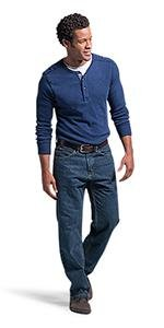 LEE Men's Big amp; Tall Modern Series Extreme Motion Relaxed Fit Jean