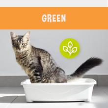 Green litter, natural litter, sustainable litter, Garfield Cat Litter