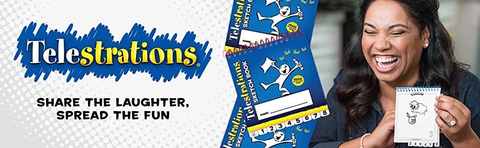Telestrations Family Board Game