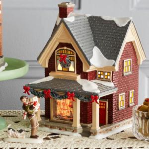 Department 56 Snow Village Holiday Decor