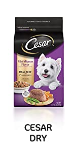 Cesar Dry Dog Food, Dog Kibble, Crunchy Kibble, Crunchy Dog Food, Premium Dog Food