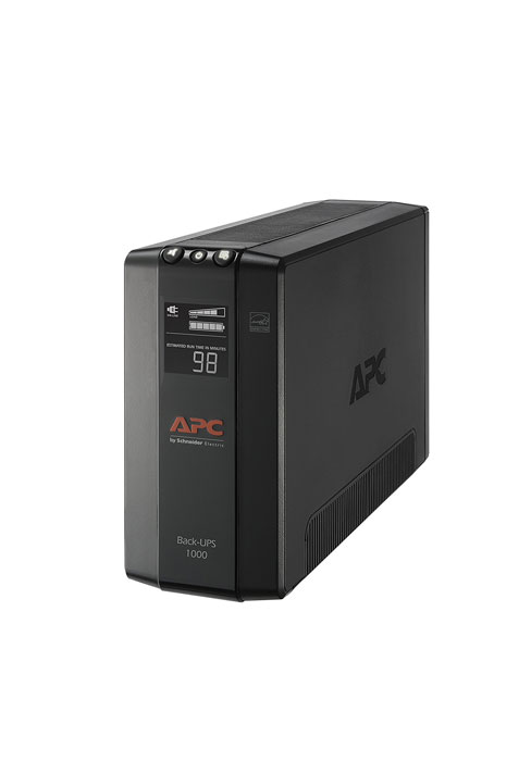 APC UPS Battery Backup & Surge Protector with USB Charger, 850VA, APC  Back-UPS (BE850M2)
