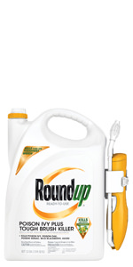 Roundup Ready-To-Use Poison Ivy Plus Tough Brush Killer with Comfort Wand