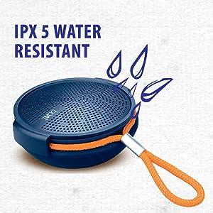 Ipx 5, water resistant, portable, speaker, stone 230, hd sound, audio, nirvana, boAt,