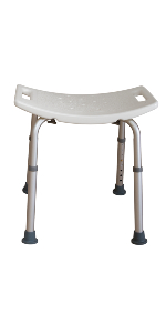 Tool Free Shower Bench