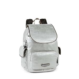 6fe3c47ab4 Kipling City Pack S - Zaini Donna, Bianco (Dazz Cream C), 15x24x45 ...