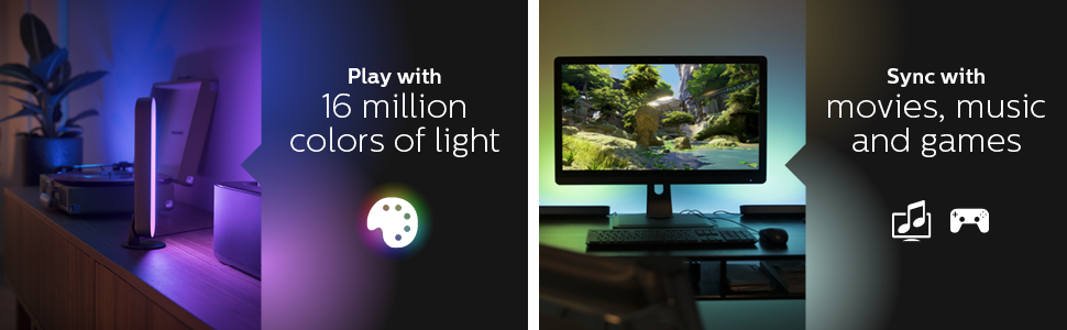 hue play, hue play uzatma, hue play extension, philips hue