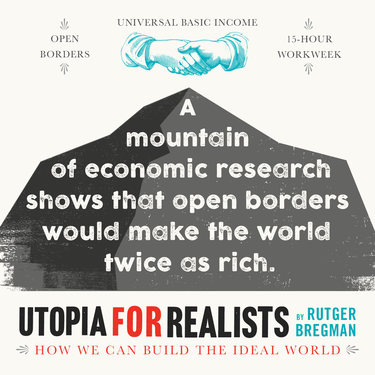 utopia for realists how we can build the ideal world rutger view larger