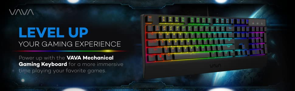 Mechanical keyboard brown mechanical keyboard and mouse.