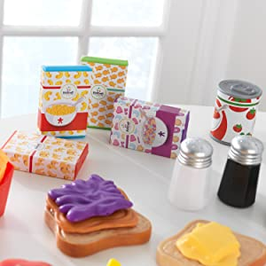 utensilios de cocina de juguete, accesorios de cocina de juguete, accesorios de cocina para