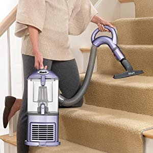 clean stairs, vacuum stairs, removable pod, detachable pod
