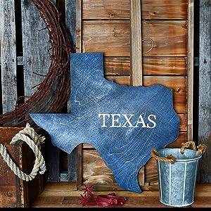 Our Texas Chunky Shape Cutout