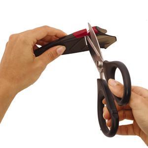sabatier edgekeeper edge keeper self sharpening knife block calphalon sharpin self