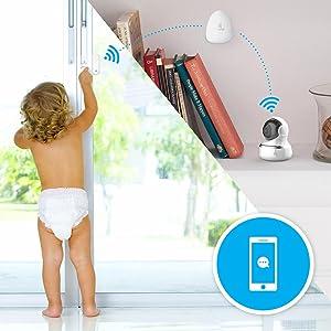 EZVIZ; smart home; capteurs d'alarme; maison intelligente