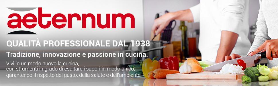 Qualità professionale dal 1938. Tradizione, innovazione e passione in cucina.