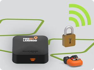Find my Landroid GPS is an anti-theft device that uses cellular data to track and lock down your Lan