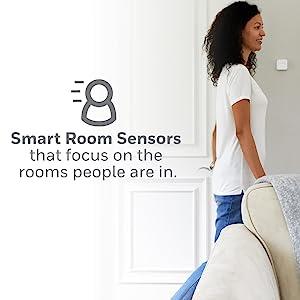 smart home, room, sensors, long, range, detect, motion