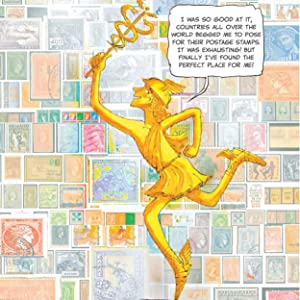 hermes;mercury;internet;stamp collectors;funny mythology;mythology adaptations