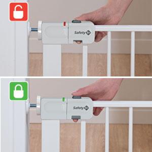 Safety 1st;Sicherheit zu Hause;Türgitter;Auto Close Metal