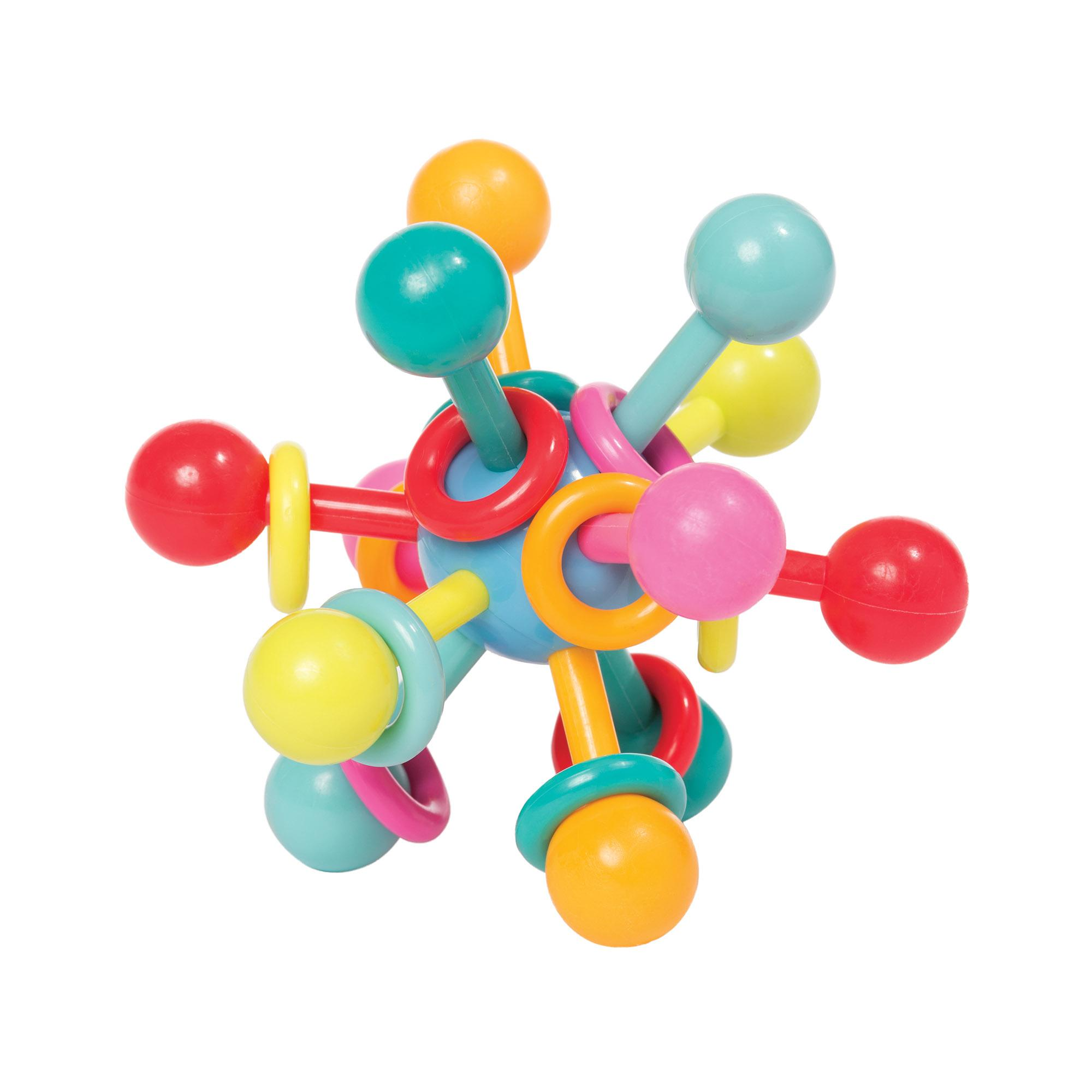Amazon Manhattan Toy Atom Rattle & Teether Grasping Activity