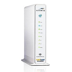 Details about ARRIS SURFboard SVG2482AC Docsis 3 0 Cable Modem WiFi Router  XFINITY voice VOIP