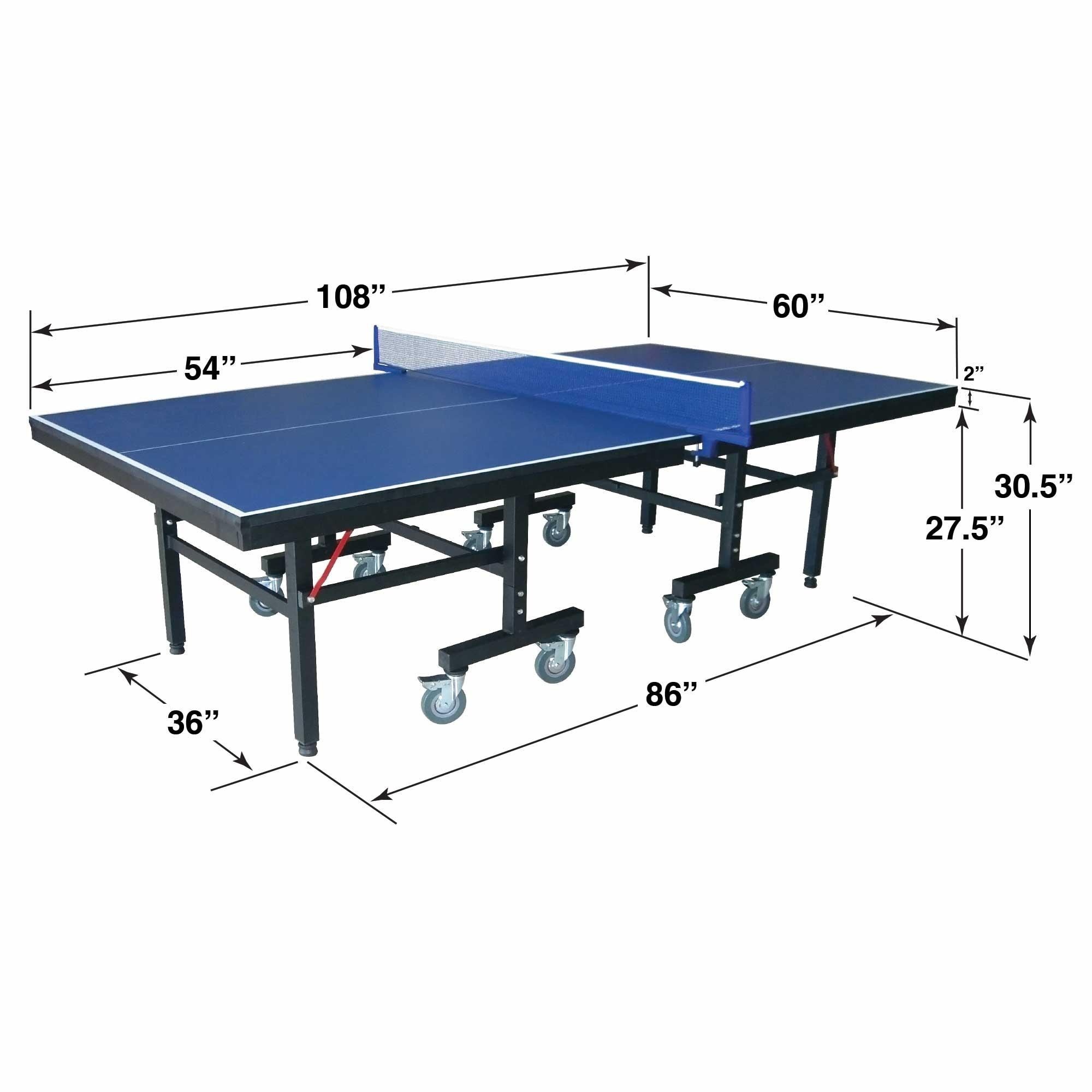 Hathaway Victory 9u0027 Professional Table Tennis Table