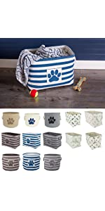 storage bin,storage basket,storage for pet toys,dog toys,home decor,home storage,storage solution