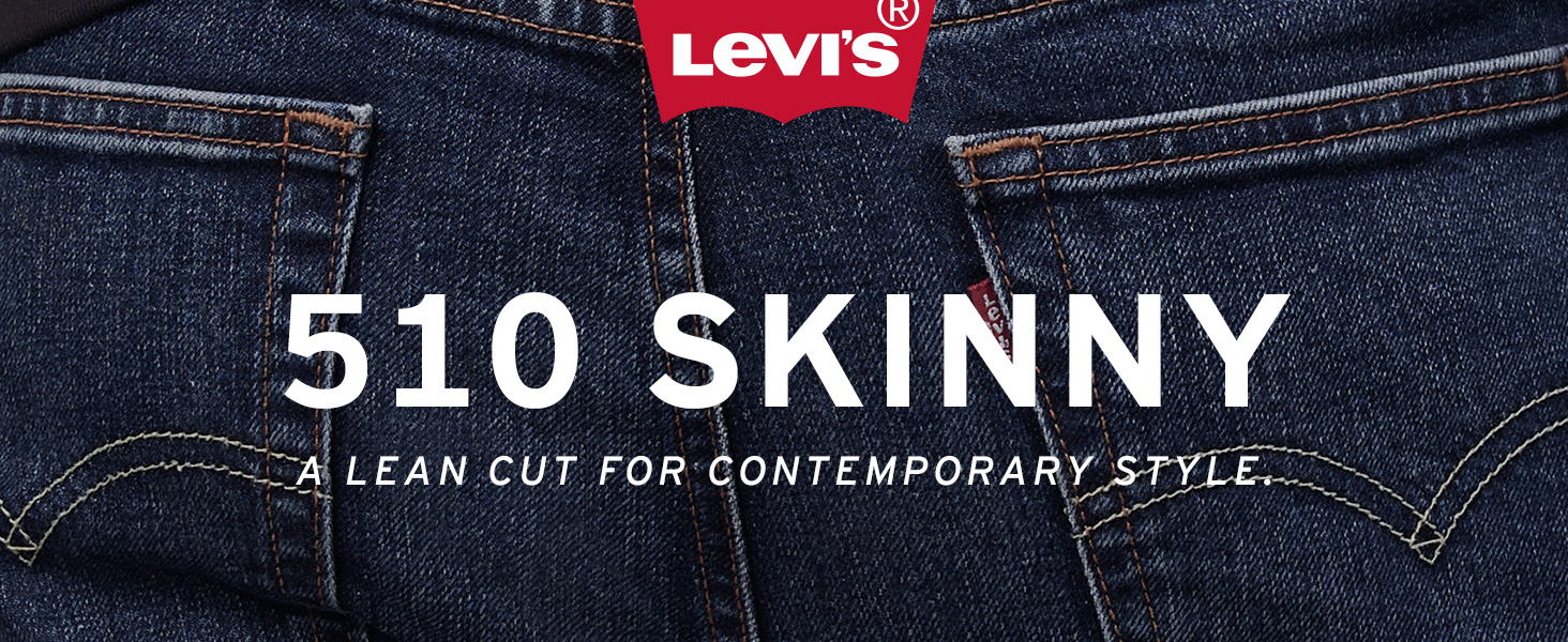 Mens Levis 510 Skinny Jean