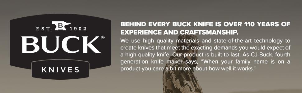 Buck Knives 102 Woodsman Fixed Blade Knife