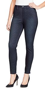 Bandolino blu bella pull on legging jegging jeans