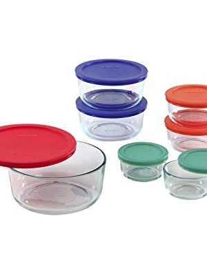 Amazon.com: Pyrex Simply Store Meal Prep Glass Food
