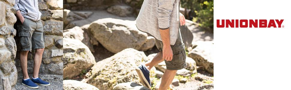 Cargo Shorts for Men, UNIONBAY Cargo Shorts, Survivor Cargo Shorts