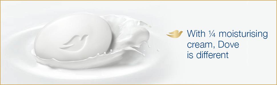 DOVE CREAM Beauty bathing BAR B4G1 125g
