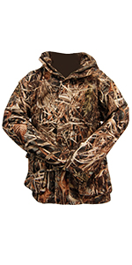 power parka, backside game pouch, upland hunting, duck hunting