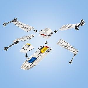 LEGO Star Wars Tm - X-Wing Starfighter Trench Run, 75235