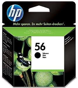 HP ,56 ,Black ,Original ,Ink ,Cartridge ,C6656AE,