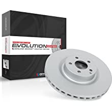 power stop, evolution coated, coated rotors, brake rotor, bakes, powerstop