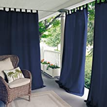 Verena Indoor Outdoor curtain panel elrene home fashions