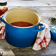 Le Creuset stockpot shown in Marseille