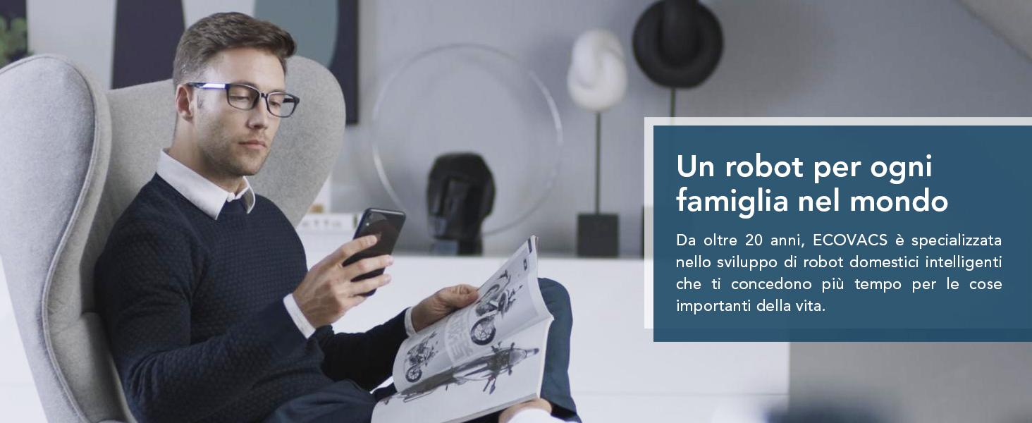 un robot per ogni familiglia nel mondo