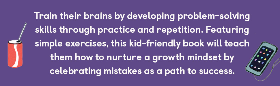 Growth Mindset for Kids, kids activity book, growth mindset for kids journal, kids growth mindset