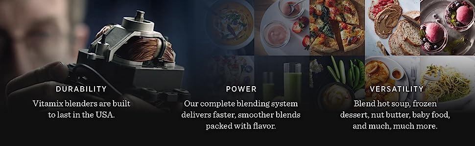 Vitamix, power, durability