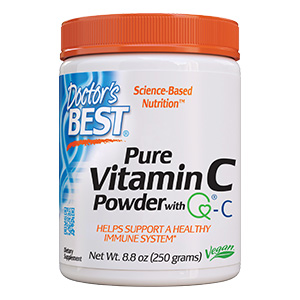 Vitamin C Powder immune response antioxidant joints and tissue enzyme brain eyes heart circulation