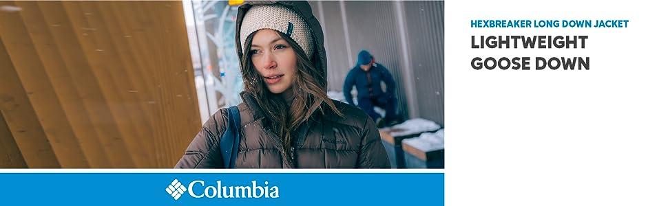 Columbia Women's Hexbreaker Long Down Winter Jacket