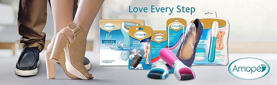 gifts for mom, gifts for her, gifts for wife, Amope, foot file, callous, pedicure, footfile